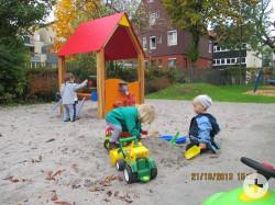 Spielplatz der Kindertagesstätte Maikäfernest
