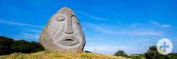 Skulptur am Besinnungsweg