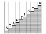 Schmuckbild Treppe mit Schriftzug Statistik