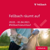Kampagnenposter Fellbach raeumt auf