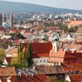 Blick über Pécs
