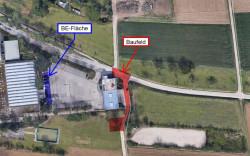 Die Pläne zum Kanalbau in der Oeffinger Geschwister-Scholl-Straße