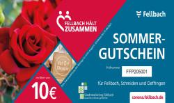 10,00 Euro Sommergutschein