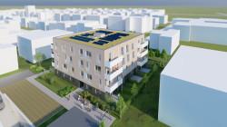 Visualisierung des Bauvorhabens Foto:WDF