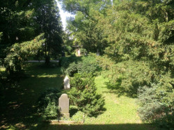 Der Alte Friedhof in fellbach