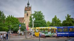 Endbahnhaltestelle Lutherkirche mit U-Bahn