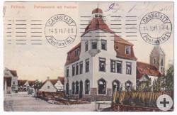 Alte Post Fellbach © Sammlung Ulrich Sayler