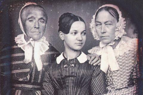 Drei Frauen der Familie Auberlen