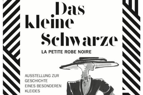 """Plakat zur Ausstellung """"Das kleine Schwarze"""" im StadtMuseum Fellbach"""