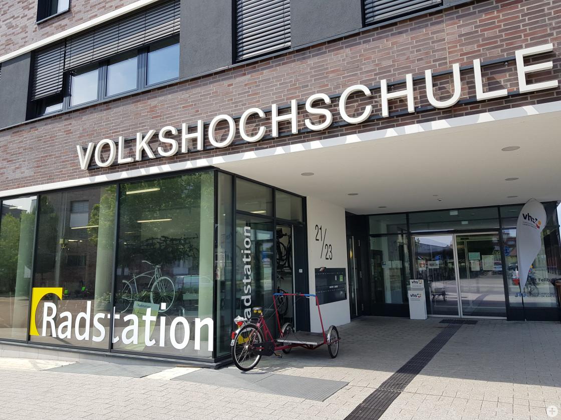 Radstation am Bahnhof Fellbach