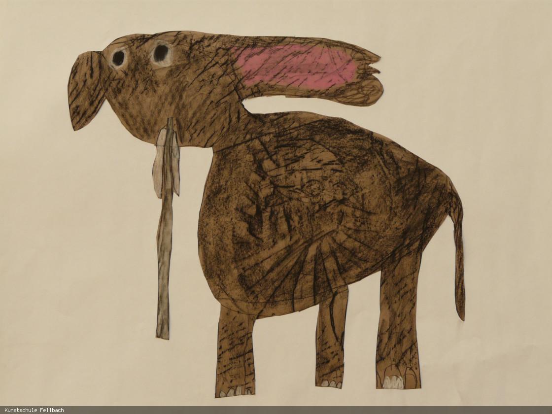 Elefantenzeichnung