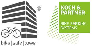 Mobilitäts-Partner: bike | safe | tower und Koch & Partner