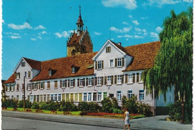 Postkarte Rathaus 2 -  Alte Schule