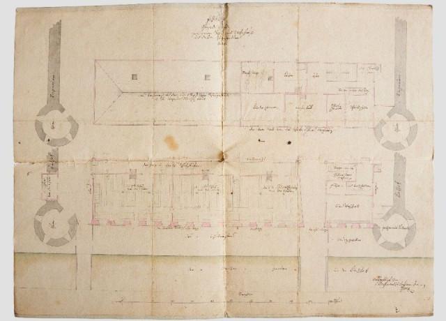 Bauplan Alte Schulhaus Grundriss