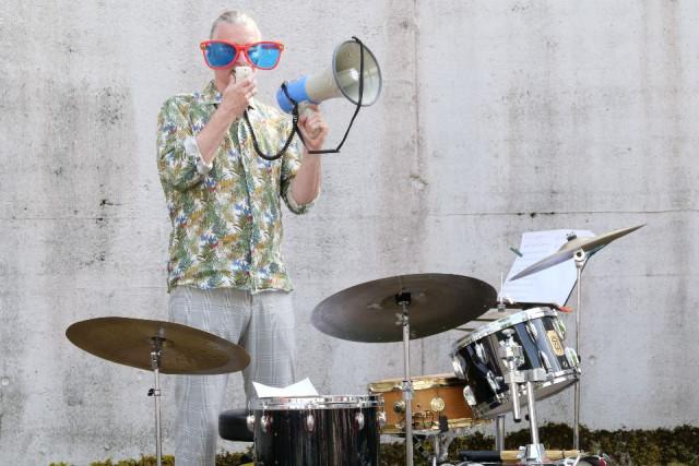 Trio Blastonal feat. Hans Fickelscher im Tropfkörper Weidachtal