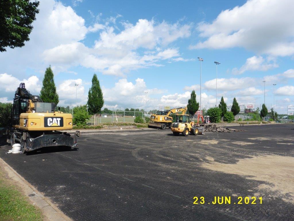Sanierung Kunstrasenplatz beim Max-Graser-Stadion