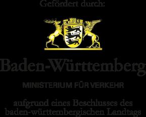 Gefördert durch das Ministerium für Verkehr Baden-Württemberg