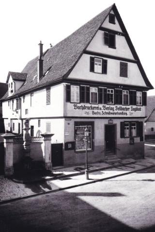 Vordere Str. 2 Conradi Haus - alter Marktbrunnen