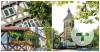 Postkarte Fachwerkhäuser, Lutherkirche