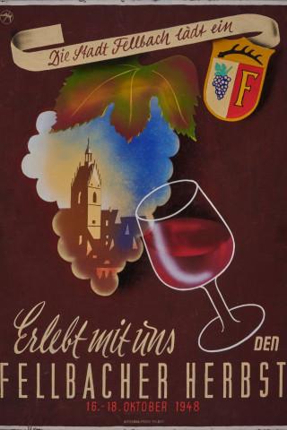 Plakat Erster Fellbacher Herbst