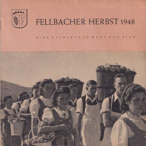 Broschüre Fellbacher Herbst 1948